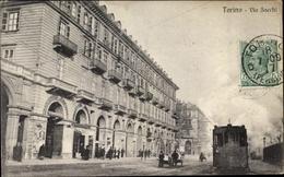 Cp Torino Turin Piemonte, Via Sacchi - Italia