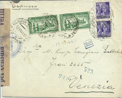 RSC79-Espresso Con 2x 50 Cent. Monumenti + 2x 1,25 Monumenti Expr. 13.11.1944 - Bello - 4. 1944-45 Repubblica Sociale