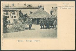 Souvenir De L'Exposition Universelle D'Anvers 1894 - CONGO TROUPE INDIGENE - 15503 - Congo Belge - Autres