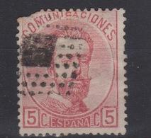1872 REINADO AMADEO I EDIFIL 118(º)  V.C. 11€ - 1870-72 Reggenza