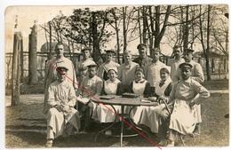 RPPC Fotokarte - Lazarett Augsburg - Brettspiel Mühle Dame Schach ?  WWI Carte Photo Allemande    1914-1918 - Guerre 1914-18