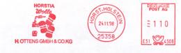 Freistempel 9508 Wolle - Marcophilie - EMA (Empreintes Machines)