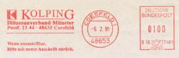 Freistempel 9546 Kolping Diözesanverband Münster Coesfeld - [7] République Fédérale