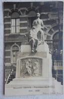 CPA PERONNES Lez BINCHE Région Maurage Waudrez Souvenir Gravis Monument Aux Morts De 1914-19 Hainaut - België