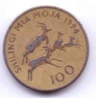 TANZANIA 1994: 100 Shilingi, KM 32 - Tanzanía
