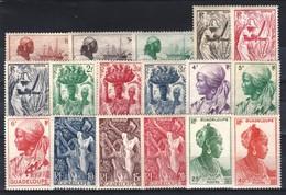 Guadeloupe ** 197 à 213 - Guadalupe (1884-1947)