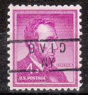 USA Precancel Vorausentwertung Preo, Locals New York, Ovid 837 - United States