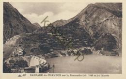 Barrage Du Chambon Sur La Romanche Et Mizoën  [3C-106 - Non Classés