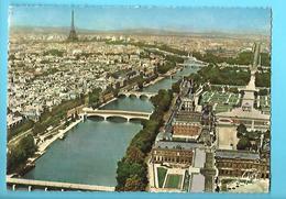 75-----EN AVION SUR PARIS---voir 2 Scans - Mehransichten, Panoramakarten
