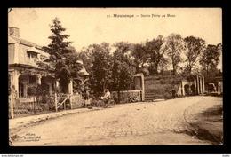 59 - MAUBEUGE - SORTIE PORTE DE MONS - Maubeuge