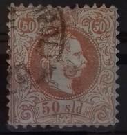 LEVANT BUREAUX AUTRICHIENS N° 7 COTE 70 € OBLITERE 5 Soldi Brun Dentelé 10 1/2 EFFIGIE DE FRANCOIS JOSEPH 1867 - Oriente Austriaco