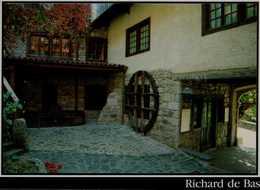 63-AMBERT..MUSEE HISTORIQUE DU PAPIER..MOULIN RICHARDDE BAS..LA COUR INTERIEUR ...CPM - Ambert