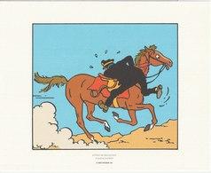 TINTIN - HERGE - MOULINSART 2011 - Planche 26 Strip 9 - Tire à Part Sur Papier Velin 240 X 193 - Sérigraphies & Lithographies