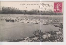 CPA-58-Nièvre- DECIZE- Le Barrage De La Loire En Temps De Crue- - Decize