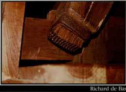 63-AMBERT..MUSEE HISTORIQUE DU PAPIER..MOULIN RICHARD DE BAS.. TETE DE MAILLET EN BOIS DE PIN MINI DE SA MACHOIRE ...CPM - Ambert