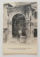 Cartolina Illustrata Siena-Cappella All'esterno Del Palazzo Comunale - Siena
