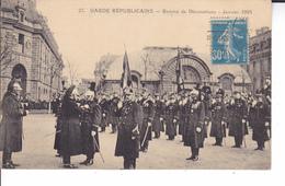 GARDE REPUBLICAINE  REMISE DE DECORATIONS JANVIER 1925 - Régiments