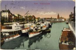 Köln - Hafenansicht [3U-012 - Koeln