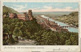 Heidelberg - Vom Wolfsbrunnenweg Gesehen [3U-024 - Heidelberg