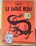 TINTIN LE LOTUS BLEU édition B29 1960/61 - Tintin