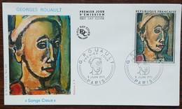 FDC 1971 - YT N°1673 - GEORGES ROUAULT - PARIS - FDC