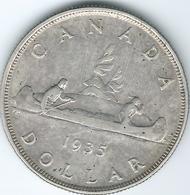 Canada - George V - 1935 - 1 Dollar - Silver Jubilee - KM30 - Canada