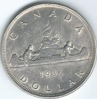 Canada - George V - 1936 - 1 Dollar - KM31 - Canada