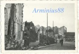 Campagne De France 1940 - Somme - Abbeville - Quartier Des Halles - Collégiale Saint-Vulfran - Wehrmacht - Westfeldzug - War, Military