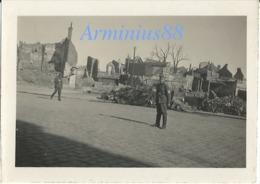Campagne De France 1940 - Somme - Abbeville - Quartier Autour De La Collégiale Saint-Vulfran - Wehrmacht - Westfeldzug - War, Military