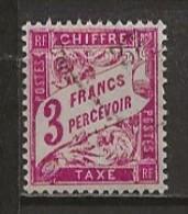 FRANCE:, Obl., TAXE N° YT 42A, TB - Taxes