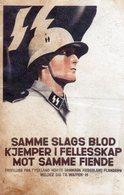 DC546 - REPRO SS Soldat Soldier WW2 Hitler Propaganda - War 1939-45