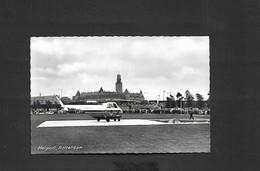 Hélicoptère SIKORSKY S-55 à L'héliport De Rotterdam - Airmail