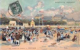 20-5774 : ROYANS. SERIE LES PLAGES DE FRANCE DES EDITIONS DES BISCUITS PERNOT. - Royan