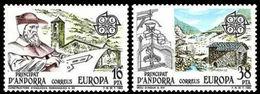 (!) Timbres EUROPA CEPT ANDORRE ESPAGNOL De 1983  N° Y&t  158/159 Neuf(s) ** Mnh LUXE - Europa-CEPT