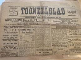 Tooneelblad Van GENT - 8 Maart 1914 ! - Programmi