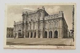 Cartolina Illustrata Torino-Palazzo Carignano Per Comacchio 16/05/1932 - Palazzo Carignano
