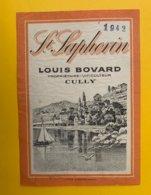 13288 - St.Saphorin 1942  Louis Bovard Cully - Etiquettes
