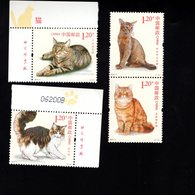 973141529 SCOTT  4134 4137  POSTFRIS MINT NEVER HINGED EINWANDFREI (XX) -  CATS - Ongebruikt