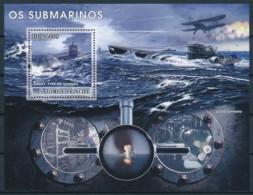 D - [400708]TB//**/Mnh-Sao Tomé-et-Principe 2009 - Sous-Marins - Submarines
