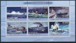 D - [400764]TB//**/Mnh-Sao Tomé-et-Principe 2009 - Sous-Marins - Submarines