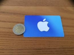"""Carte Cadeau Plastique """"Apple"""" - Non Classificati"""
