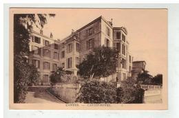 06 CANNES CANISY HOTEL ROUTE DE FREJUS CARTE PUBLICITAIRE - Cannes