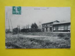 Marquion ,gare , Train - Autres Communes