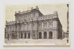 Cartolina Illustrata Torino-Palazzo Carignano Per Mondovì 06/06/1930 - Palazzo Carignano