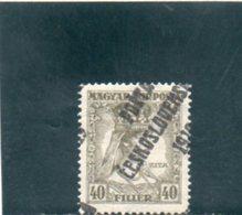 TCHECOSLOVAQUIE 1919 * SIGNE' - Tchécoslovaquie