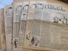 't Pallieterke - EERSTE JAARGANG - 1945 - 33 Nummers - Oud