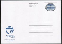Finland, Stationery Post Card Nordia 1985 Mint - Postwaardestukken