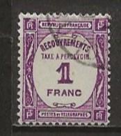FRANCE:, Obl., TAXE N° YT 59, TB - Taxes