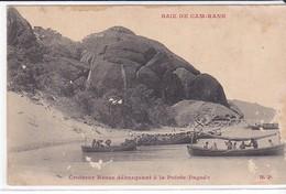 CPA Old Pc Russie Russo Japanese War Way To Tsushima Baie Cam Ranh Indochine Croiseur Débarquement - Russie
