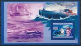 D - [401863]TB//**/Mnh-Guinée 2006 - Robert Fulton, Sous-Marins, Bateaux - Submarines